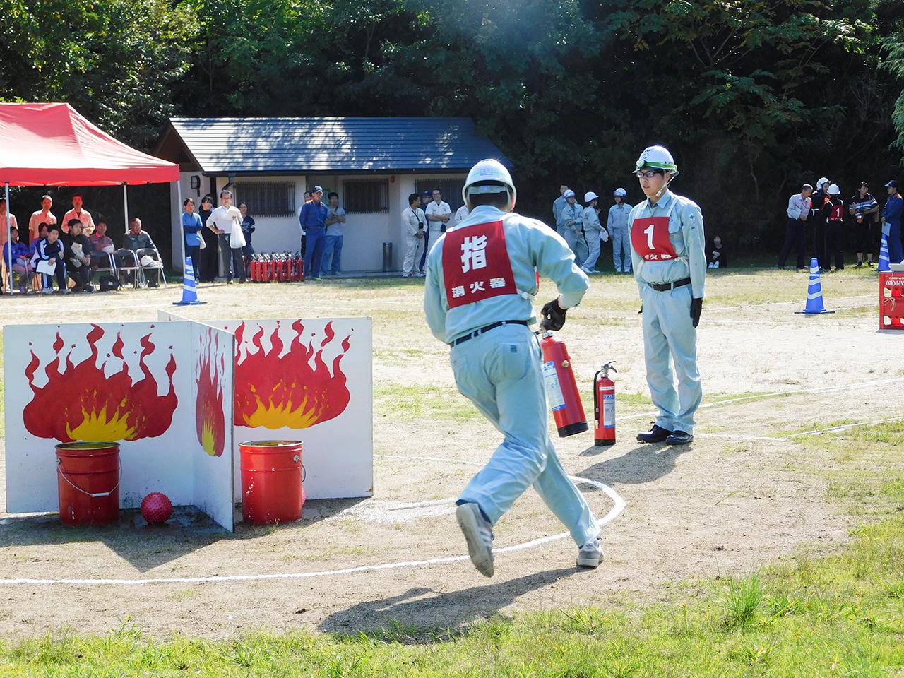 「第26回消火競技大会」に参加しました。