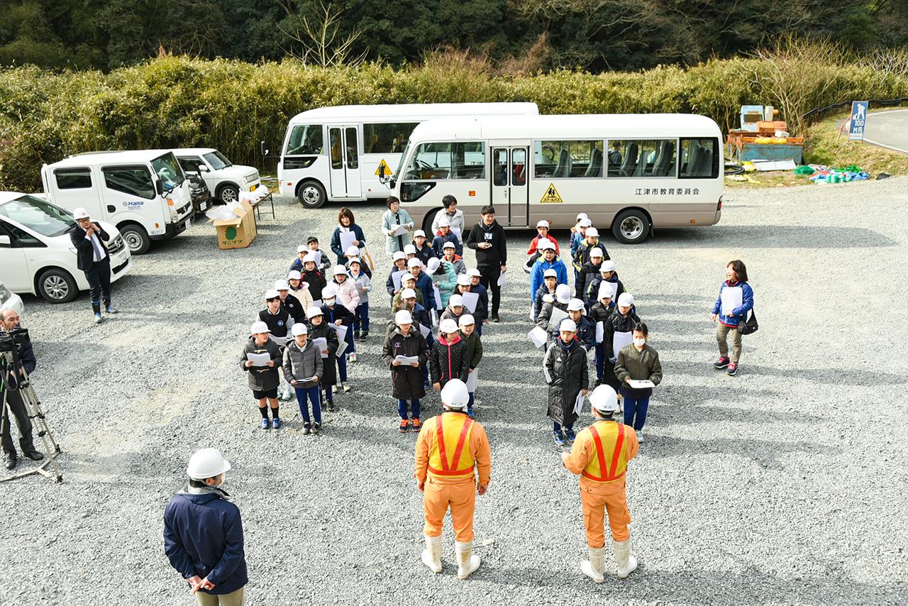 第2回トンネル現場見学会を開催しました。